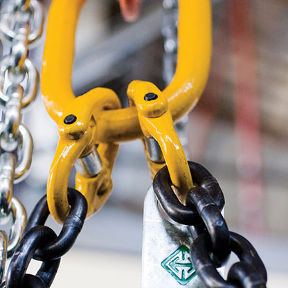 Chain slings and fittings