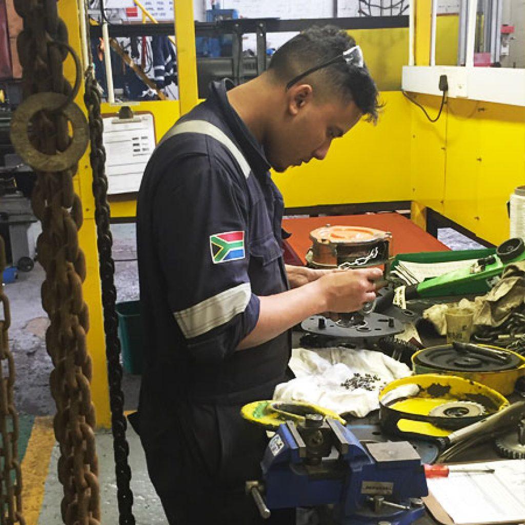 chain block inspection