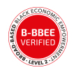 B-BBEE Level 2 badge